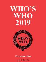 Who's Who 2019