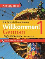 Willkommen - activity book