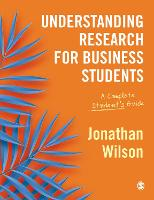 Understanding Research for Business...