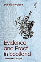 Evidence and Proof in Scotland:...