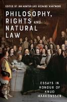 Philosophy, Rights and Natural Law:...
