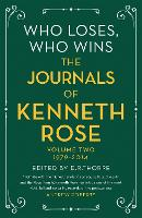 Who Loses, Who Wins: The Journals of...
