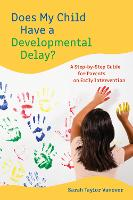 Does My Child Have a Developmental...