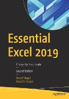 Essential Excel 2019: A Step-By-Step...