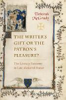 The Writer's Gift or the Patron's...