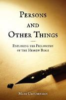 Persons and Other Things: Exploring...