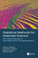 Statistical Methods for Materials...