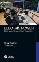 Electric Power: Distribution ...