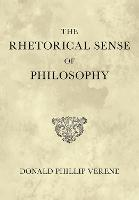 The Rhetorical Sense of Philosophy