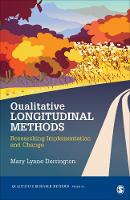 Qualitative Longitudinal Methods:...