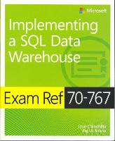 Exam Ref 70-767 Implementing a SQL...