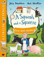 A Squash and a Squeeze Sticker Book