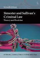 Simester and Sullivan's Criminal Law:...