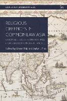 Religious Offences in Common Law ...