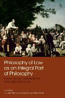 Philosophy of Law as an Integral Part...