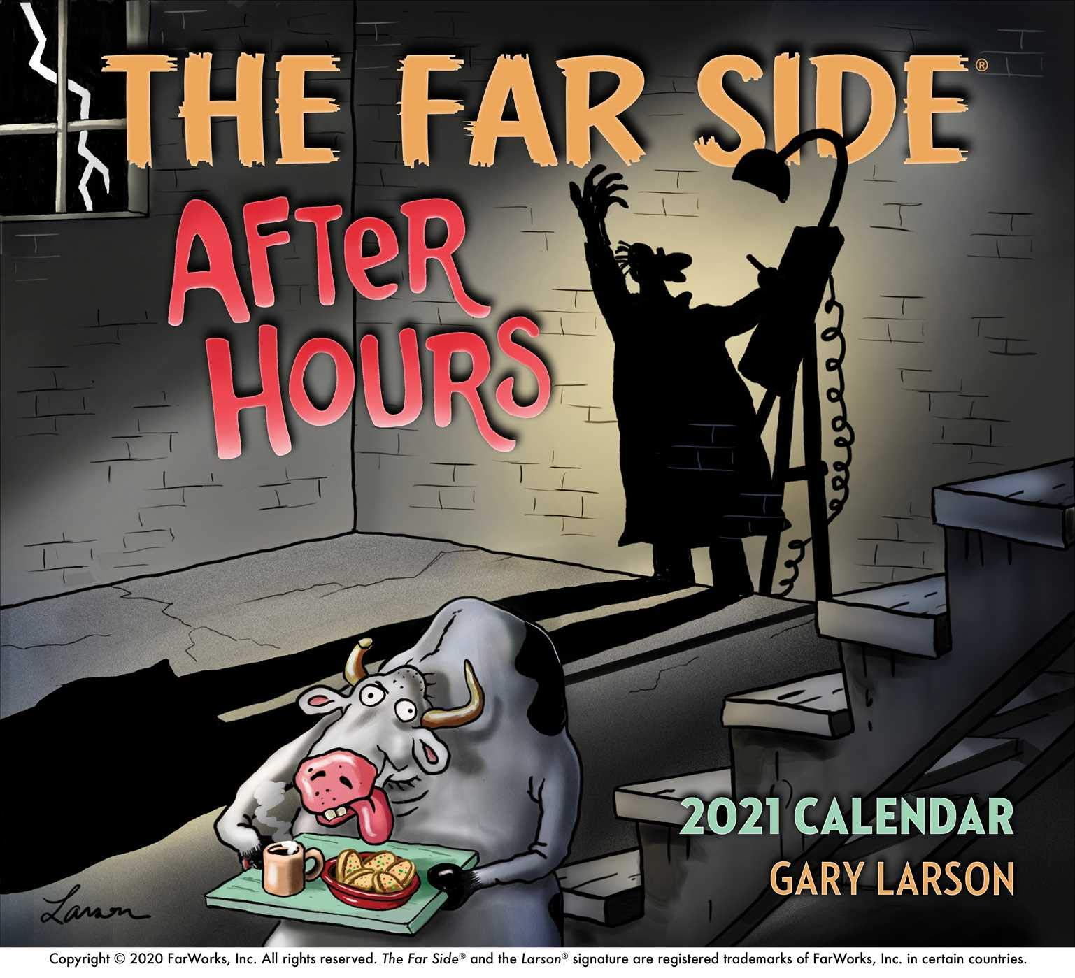 The Far Side ® After Hours 2021 Calendar