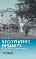 Negotiating Insanity in the Southeast...