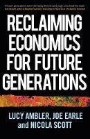 Economics Needs You: A Manifesto to...