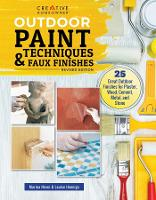Outdoor Paint Techniques and Faux...