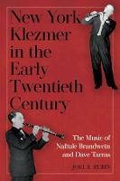 New York Klezmer in the Early...