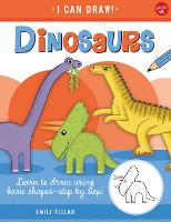Dinosaurs: Learn to draw using basic...
