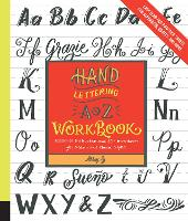 Hand Lettering A to Z Workbook:...