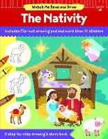 Watch Me Read and Draw: The Nativity:...