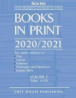 Books in Print - 7 Volume Set, 2020/21