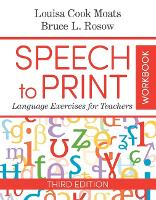 Speech to Print Workbook: Language...