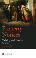 Property Notices: Validity and Service