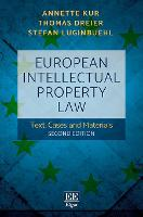 European Intellectual Property Law:...