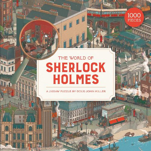 The World of Sherlock Holmes 1000pc...