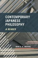 Contemporary Japanese Philosophy: A...