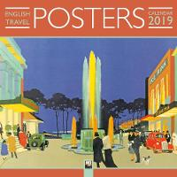 English Travel Posters Wall Calendar...