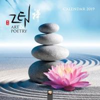 Zen Art & Poetry Wall Calendar 2019...
