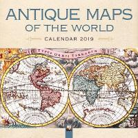 Antique Maps of the World Wall...
