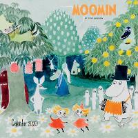 Moomin Family 12 Month Wall Calendar...