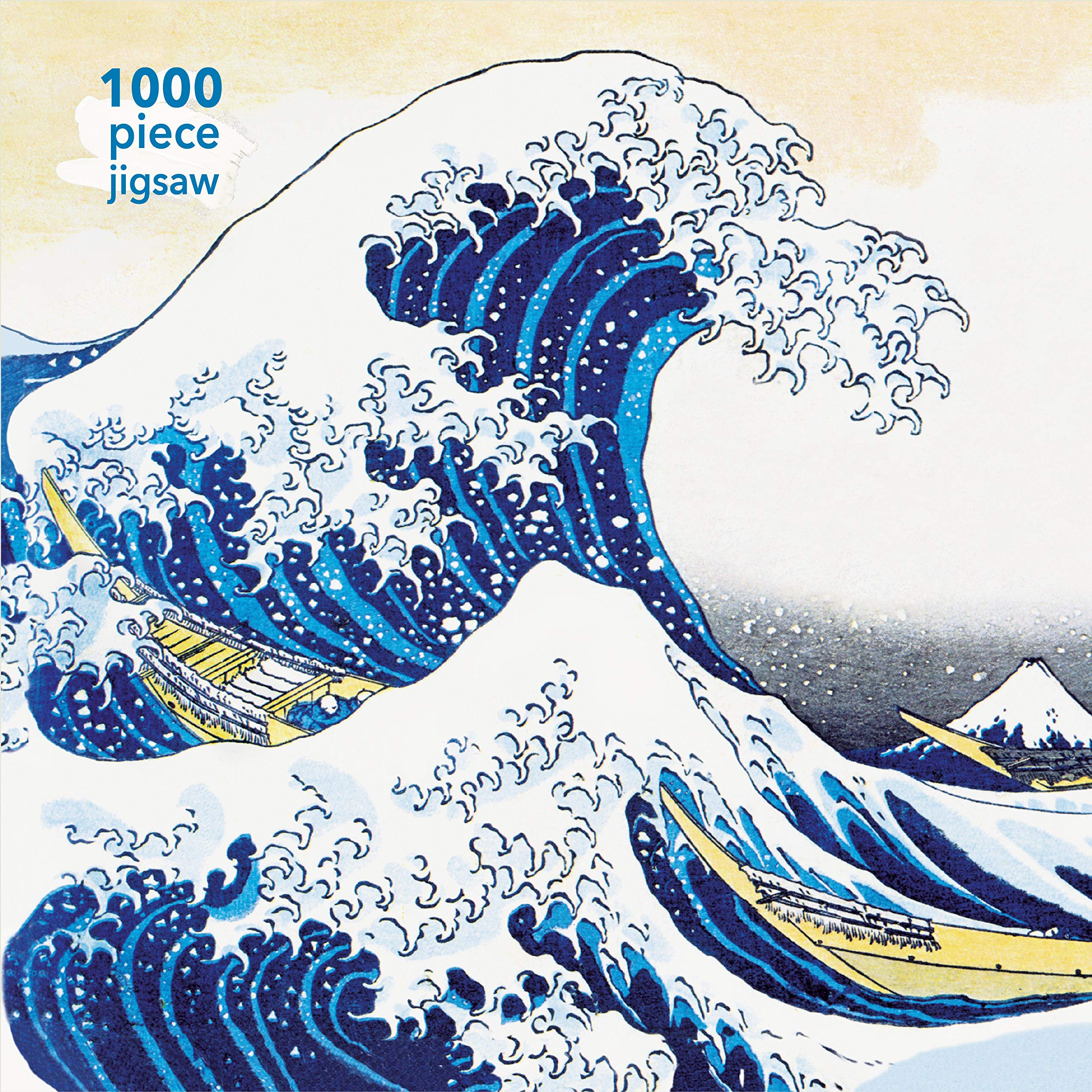 HOKUSAI THE GREAT WAVE 1000PC