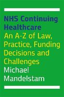 NHS Continuing Healthcare: An A-Z of...