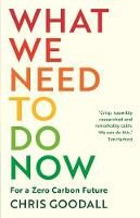 What We Need to Do Now: For a Zero...
