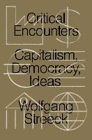 Critical Encounters: Capitalism,...