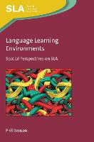 Language Learning Environments:...