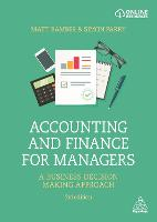 Accounting and Finance for Managers: ...