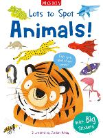 Lots to Spot Sticker Book: Wild Animals!
