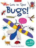 Lots to Spot Sticker Book: Bugs!