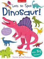 Lots to Spot Sticker Book: Dinosaur!