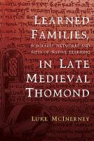 Learned Families, Scholarly Networks...