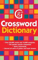 Crossword Dictionary: Over 45,000...