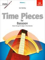 Time Pieces for Bassoon, Volume 2:...