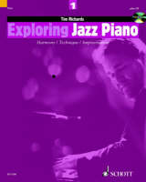 Book cover for Exploring Jazz Piano 1